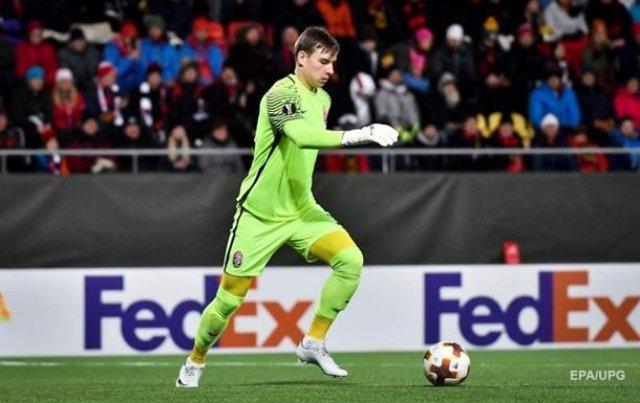 Украинский голкипер заменит юного француза в «Реале»