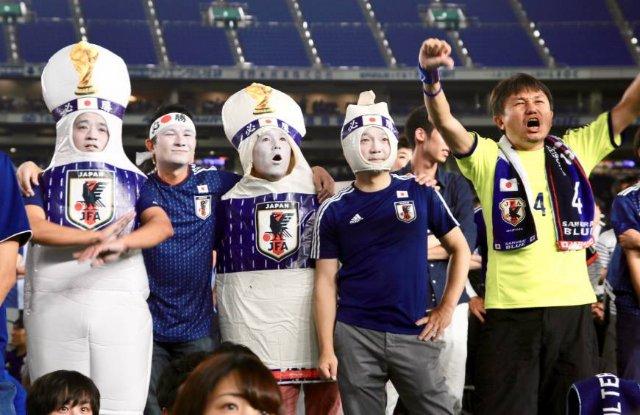 Больше 36 миллионов японцев посмотрели матч своей сборной против Колумбии
