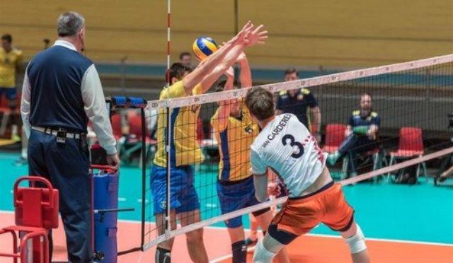 Сборная Украины уступила Нидерландам в Золотой Евролиге