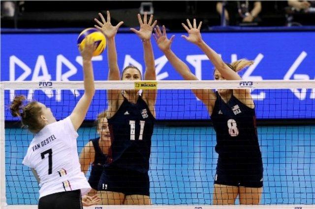 В женской Лиге Наций после второго тура лидирует сборная США