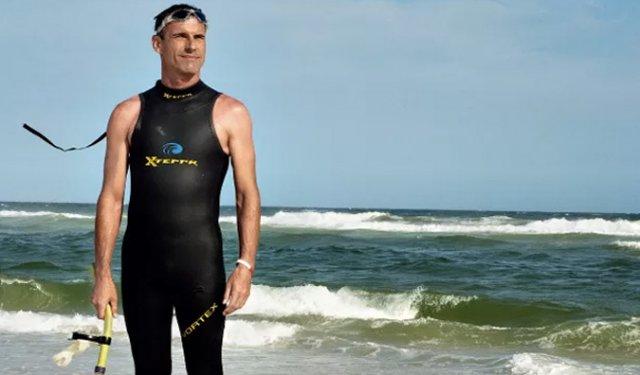 50-летний француз попытается переплыть Тихий океан