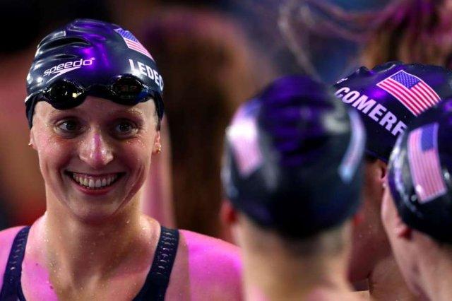 Ледеки установила мировой рекорд на дистанции 1500 м
