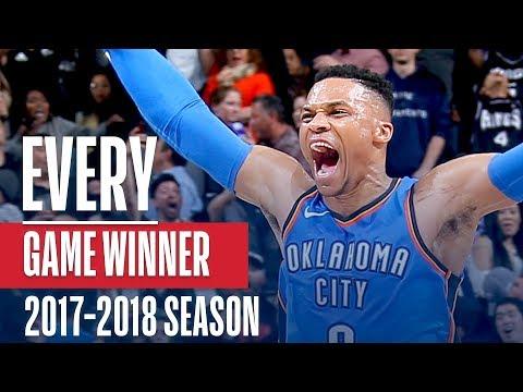 НБА представила все победные баззер-битеры минувшего сезона