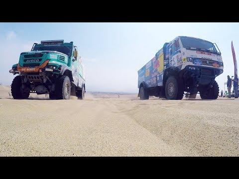 Победа Николаева в видеоблоге «КАМАЗ-мастера» с 9-го этапа «Дакара»