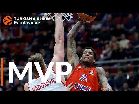 Клайберн — MVP 19-го тура Евролиги