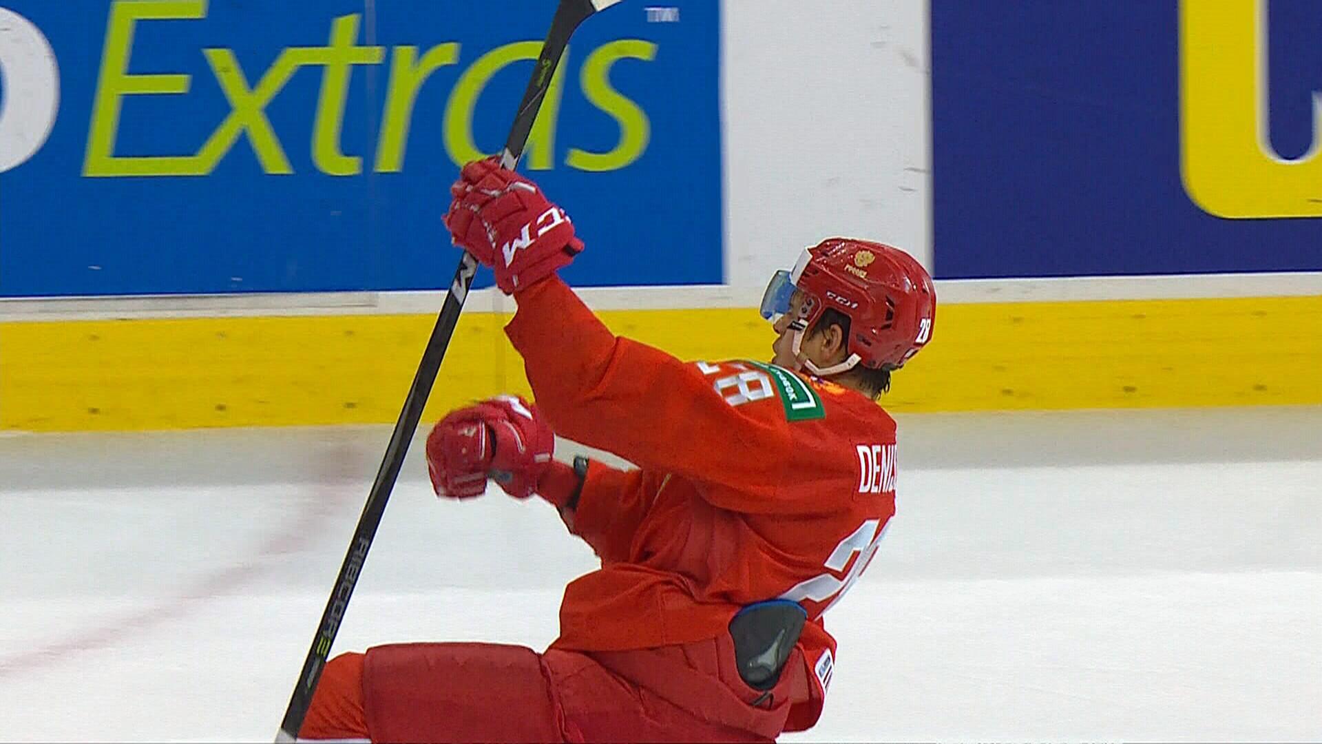 Денисенко  лучший игрок сборной России в матче с США на МЧМ-2019