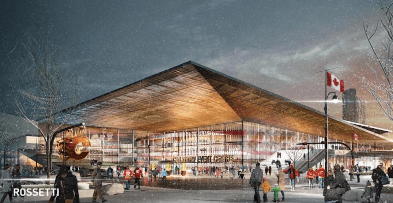 В Калгари обсуждают вопрос о строительстве новой арены для