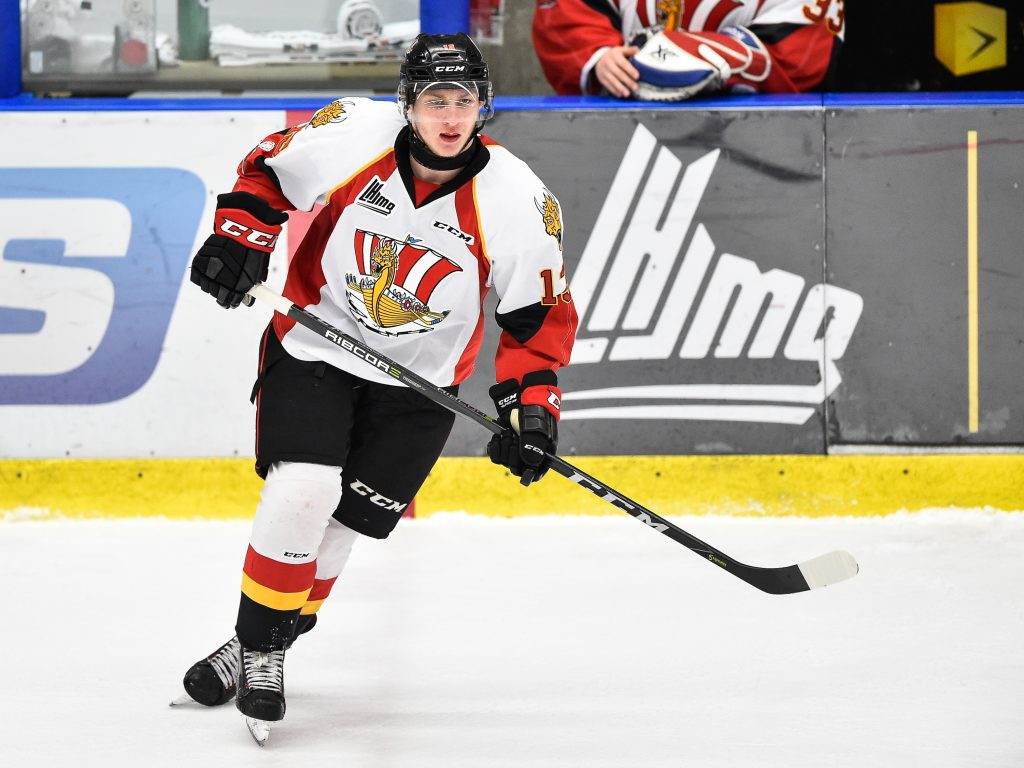 Иван Чехович - лучший нападающий месяца в QMJHL