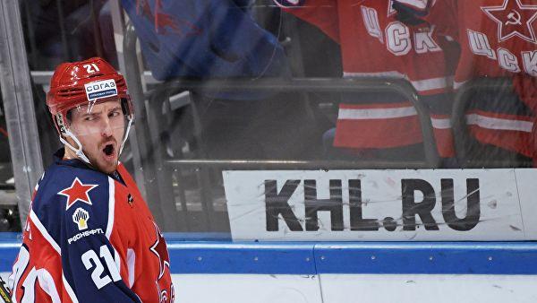 Калинин вернулся в состав ЦСКА на первую игру серии против СКА
