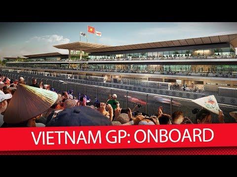 Опубликовано видео виртуального круга на трассе во Вьетнаме
