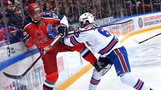 ЦСКА и СКА назвали составы на 5-й матч серии, питерцы все еще без Дацюка