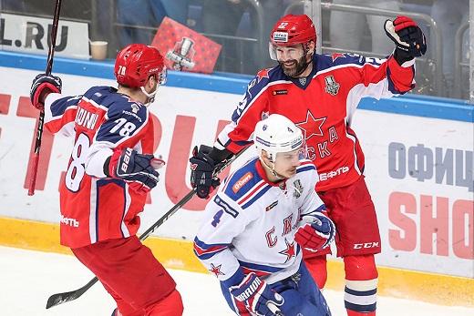 ЦСКА и СКА назвали составы на 7-й матч серии, у москвичей  Мамина заменил Скотт