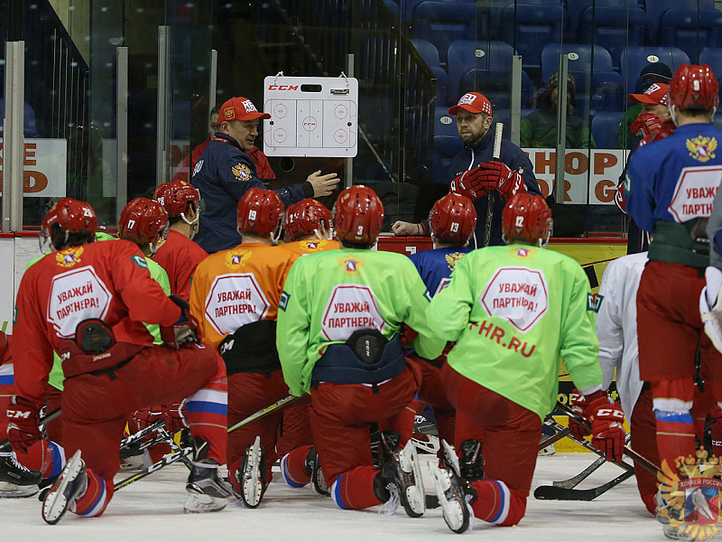 Молодежная сборная России готовится к Турниру четырех наций