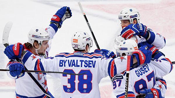 СКА определился с составом на четвёртый матч серии с ЦСКА