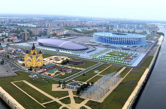 Проект ледовой арены в Нижнем Новгороде отправлен на госэкспертизу