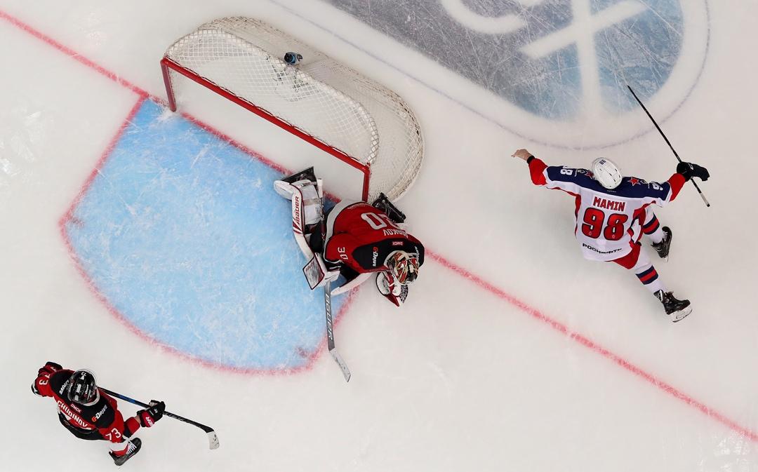 Чернышенко: ЦСКА показал хоккей таким, каким он должен быть