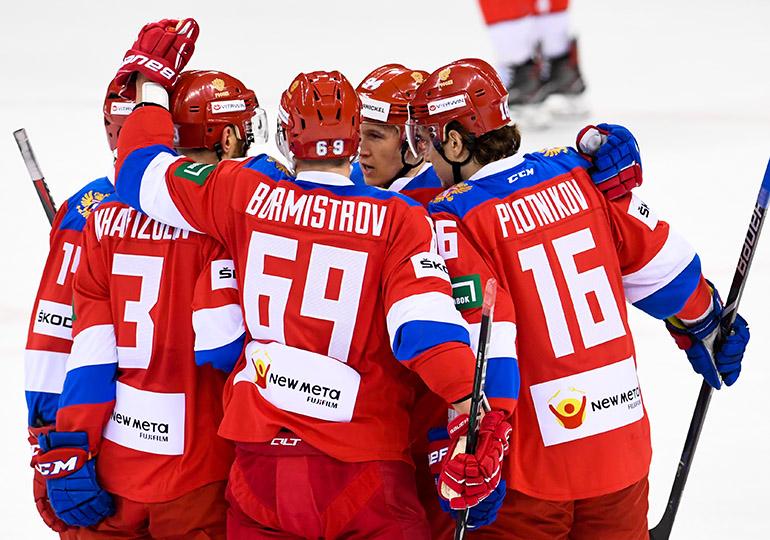 Сборная России одержала победу над командой Швейцарии в матче Еврочелленджа