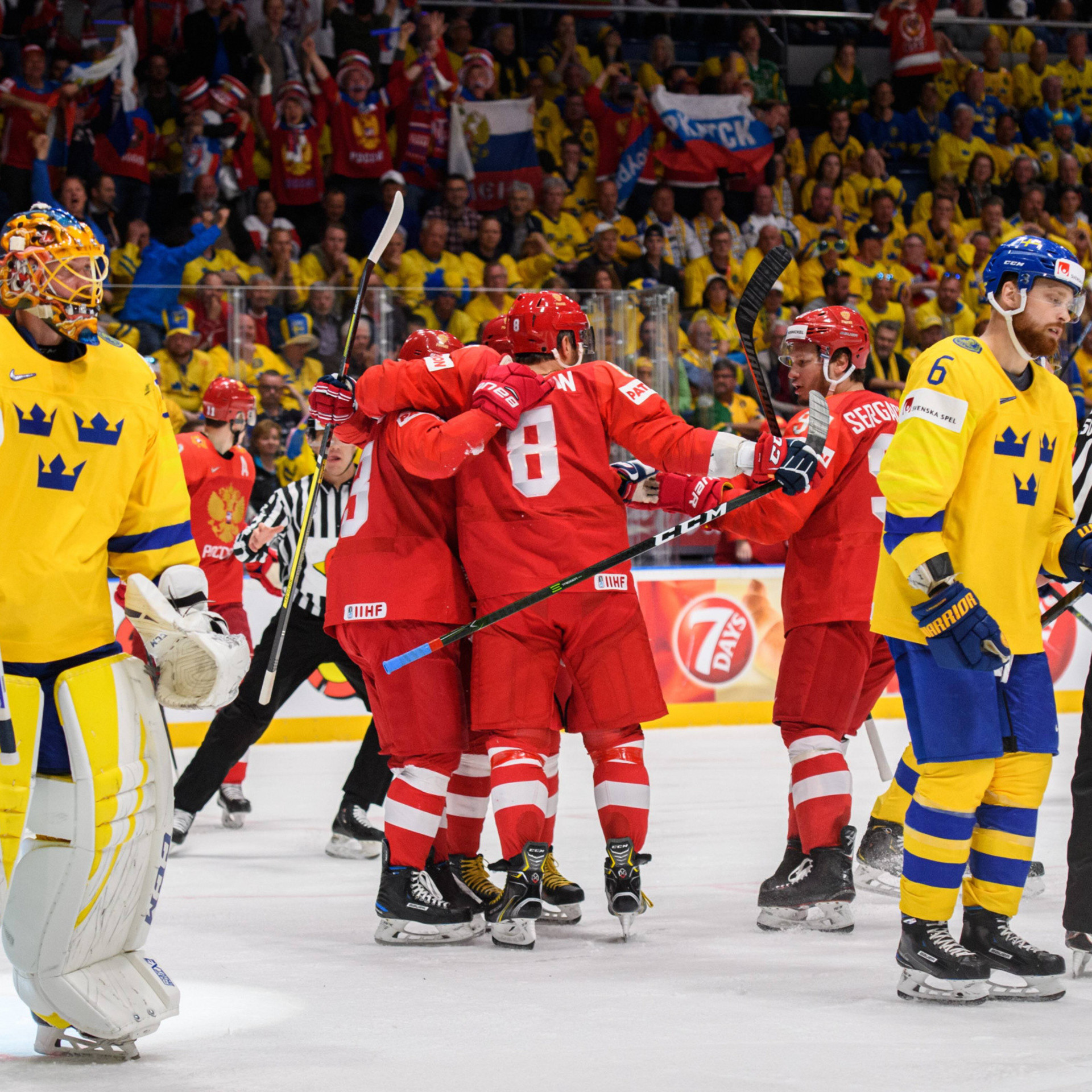 Журналист: рад, что Швеция не сыграет с Россией. Это могло стать унижен