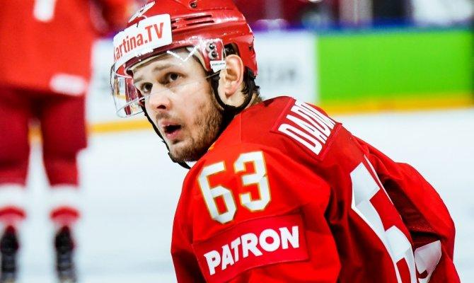 Дадонов открыл счёт в матче ЧМ-2019 против Австрии [видео]