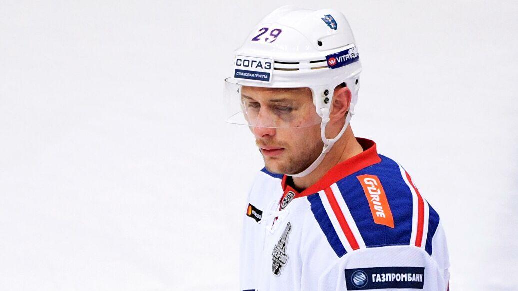 Каблуков стал пятым хоккеистом, сыгравшим 700 матчей в КХЛ